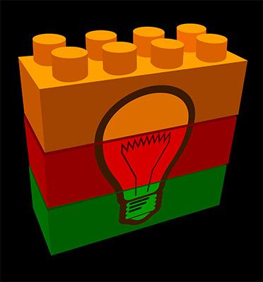 3D bricks idea