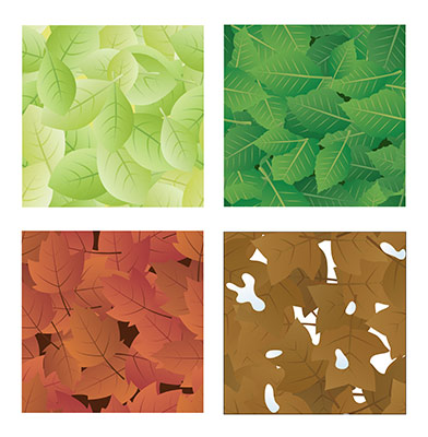 4seasons leaf tiles