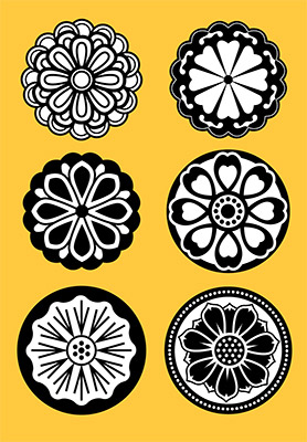 buddhist flower icons