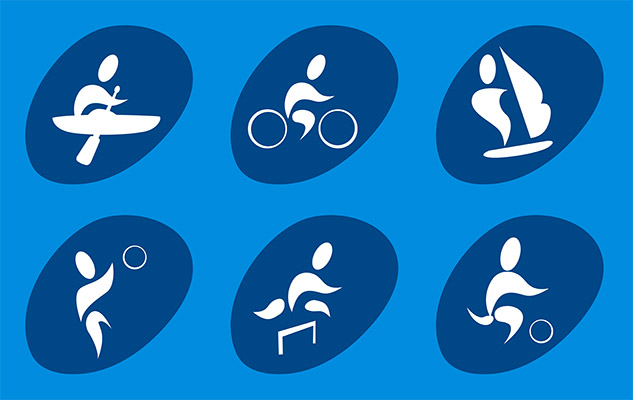 sports human icon