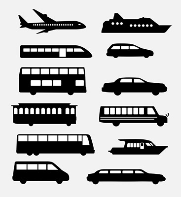 transportation icons 3