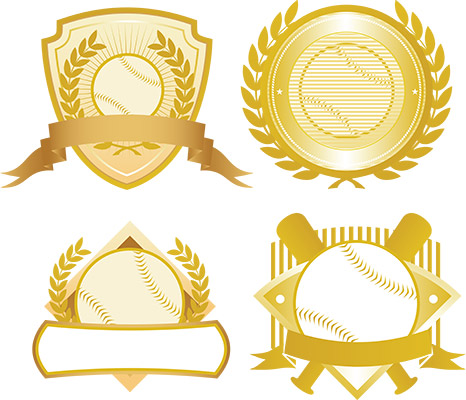 baseball gold seals