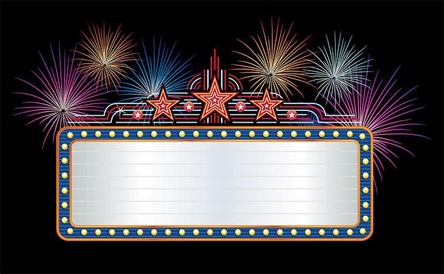billboard fireworks
