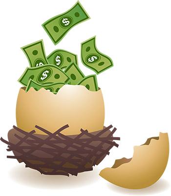 egg hatch money