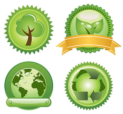 enviromental badges