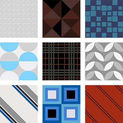 geometirc business tiles