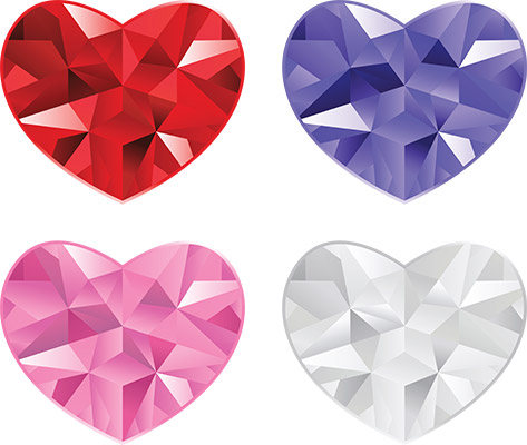 heart gem