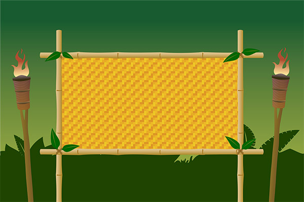 jungle bamboo board