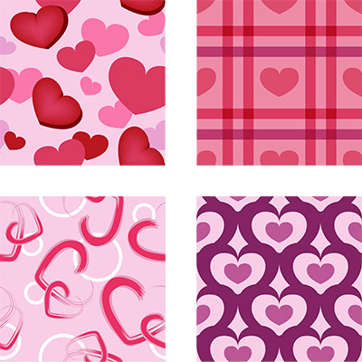 lovely valentine tiles