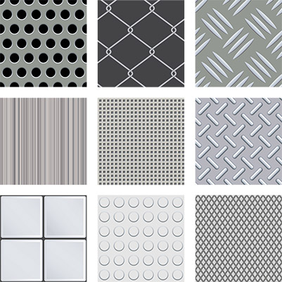 metal texture tiles