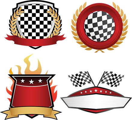 racing banners