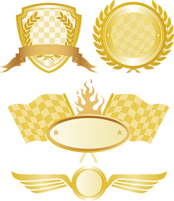 racing gold seals
