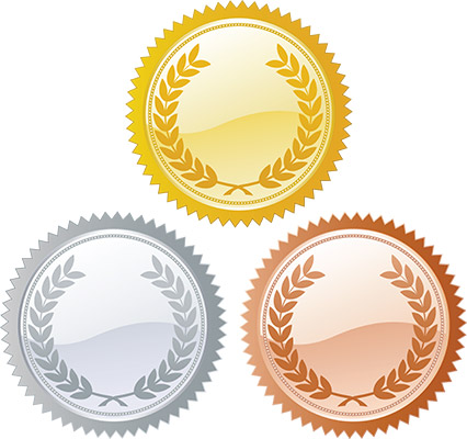 ranking badges