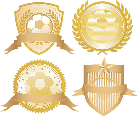 soccer gold seals