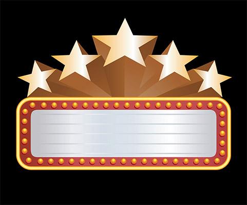 star banner rect