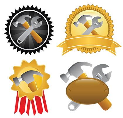 tools badges